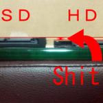 oczのSSD「SOLID3」はThinkPad X121eに「普通には」入らない