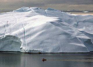 Iceberg, near Ilulissat, Disco Bay, Greenland