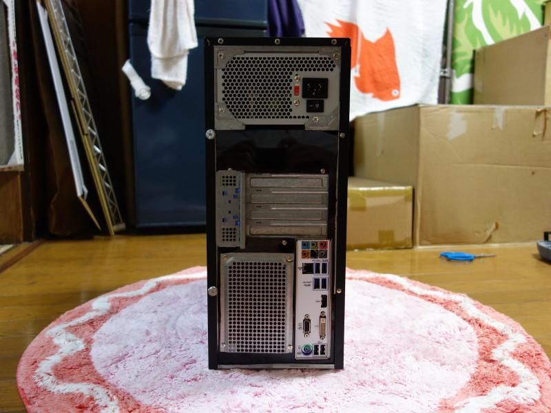 IBMのx3105中身総入れ替え!古くなったメーカー製PCを自作機にする_45
