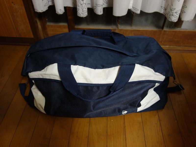 防災かばんの中身公開!とある猫飼いの場合。