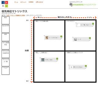 EvernoteWebアプリ「curiage(きゅりあーじ)」とは(その1)