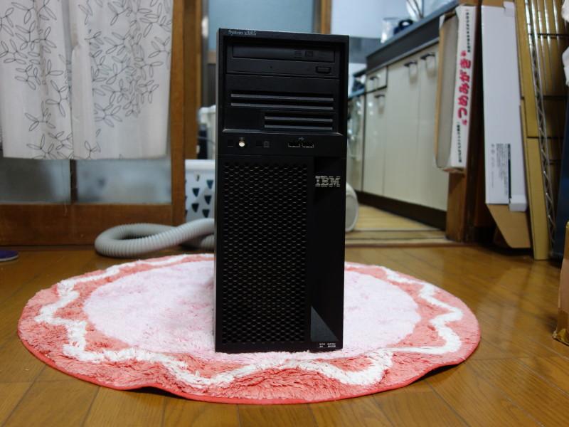 IBMのx3105中身総入れ替え!古くなったメーカー製PCを自作機にする_44