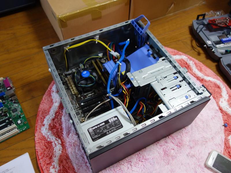 IBMのx3105中身総入れ替え!古くなったメーカー製PCを自作機にする_42