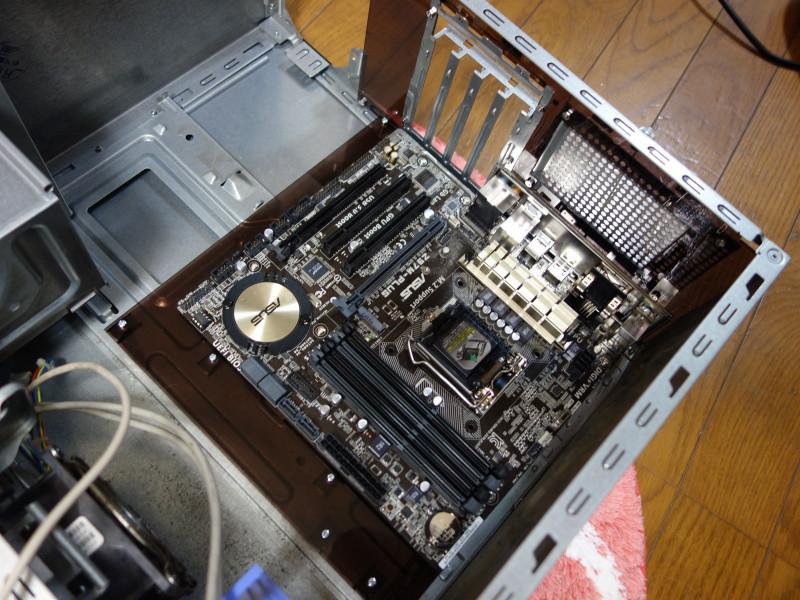 IBMのx3105中身総入れ替え!古くなったメーカー製PCを自作機にする_40