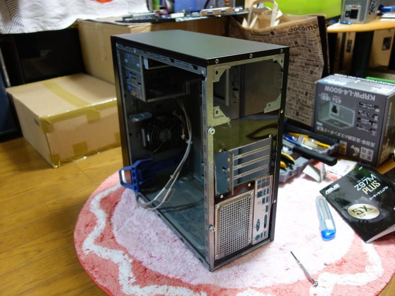 IBMのx3105中身総入れ替え!古くなったメーカー製PCを自作機にする_37