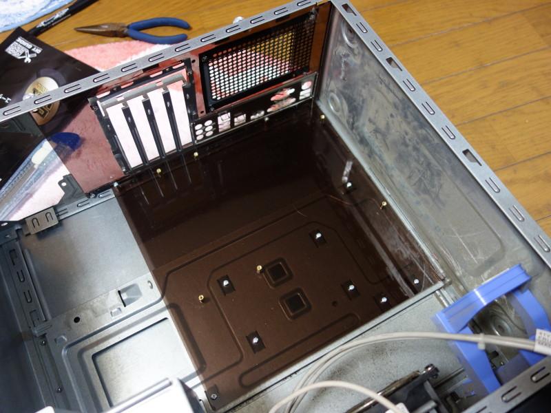 IBMのx3105中身総入れ替え!古くなったメーカー製PCを自作機にする_38