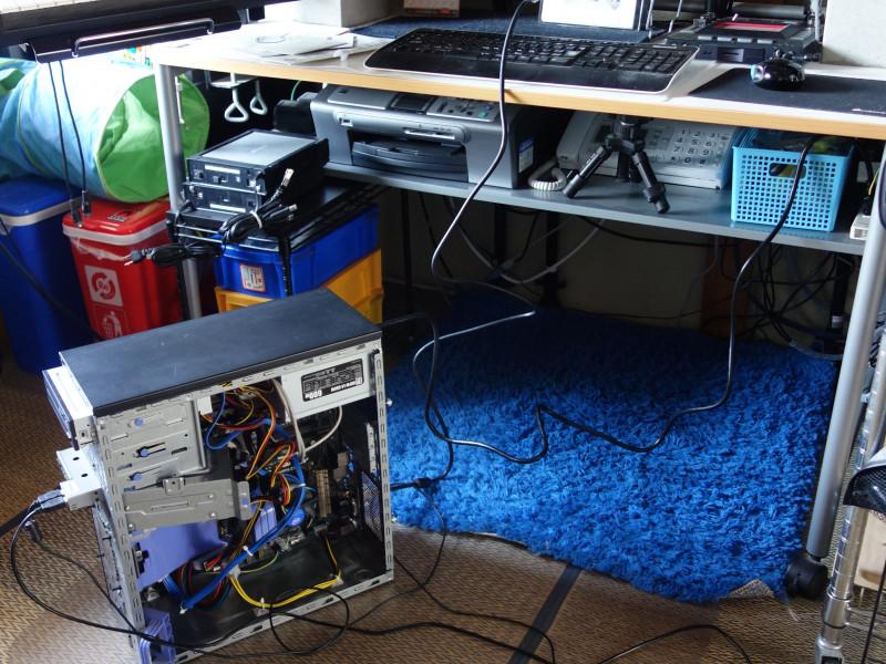 IBMのx3105中身総入れ替え!古くなったメーカー製PCを自作機にする_41