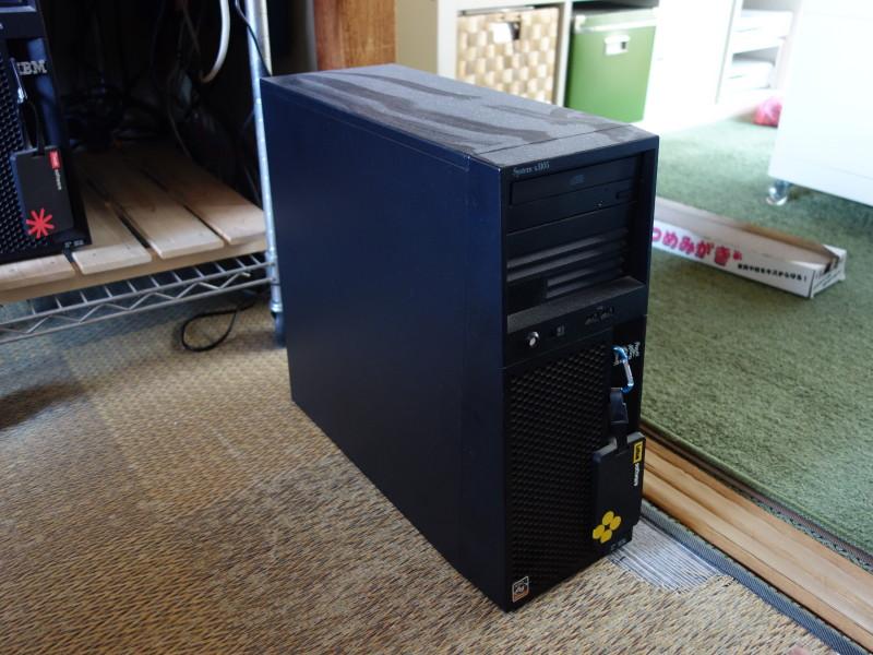 IBMのx3105中身総入れ替え!古くなったメーカー製PCを自作機にする_01
