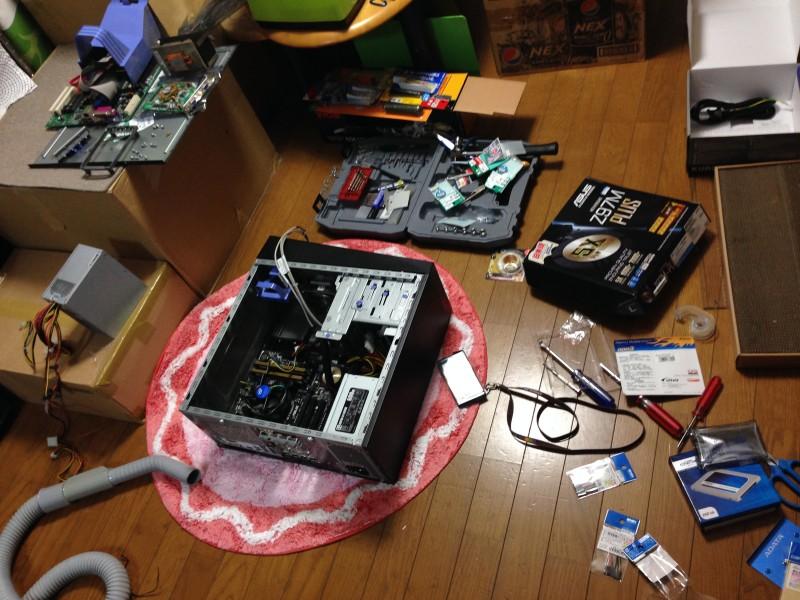 NG集:IBMのx3105中身総入れ替え!古くなったメーカー製PCを自作機にする_01