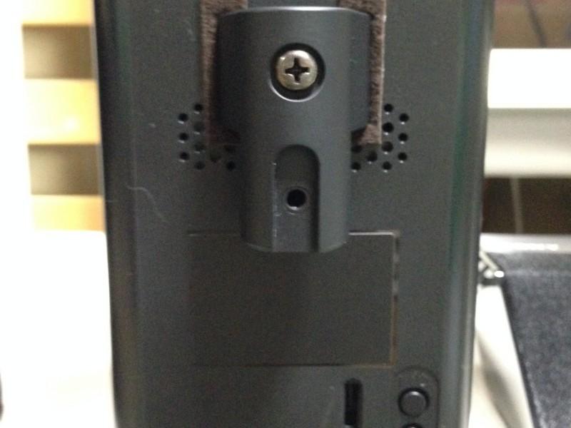 HT-RT5リアスピーカーをSPS-90スピーカースタンドに取り付ける
