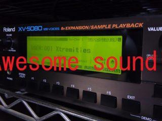 【ありがとう】XV-5080をDAWから32パートで鳴らす方法【ローランド】